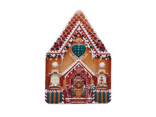 Plåtburk Hus Gingerbread