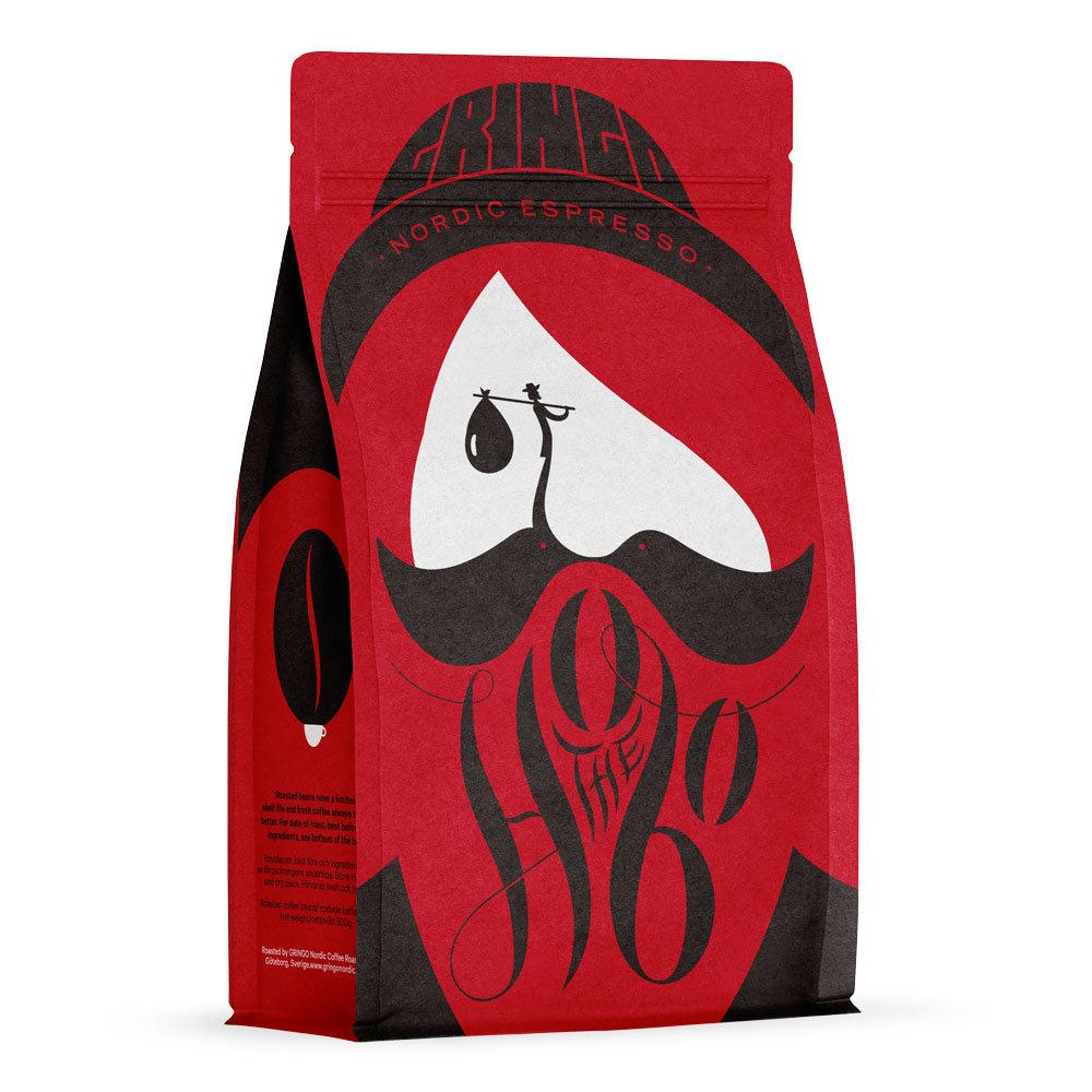 Gringo The Hobo Espresso 500g hela bönor