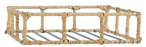 Servettställ med Bambukant