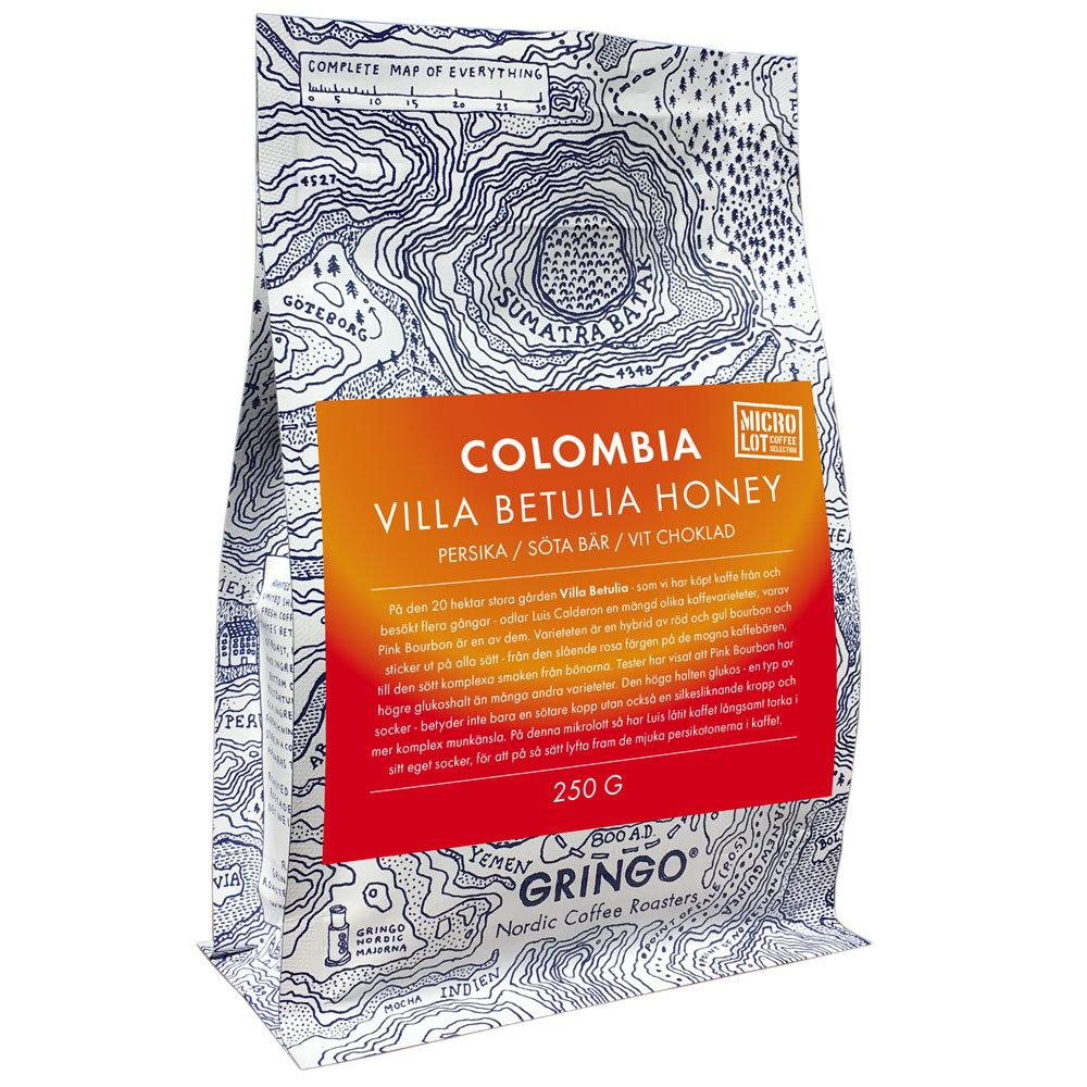 Gringo Colombia Villa Betulia Honey 250g