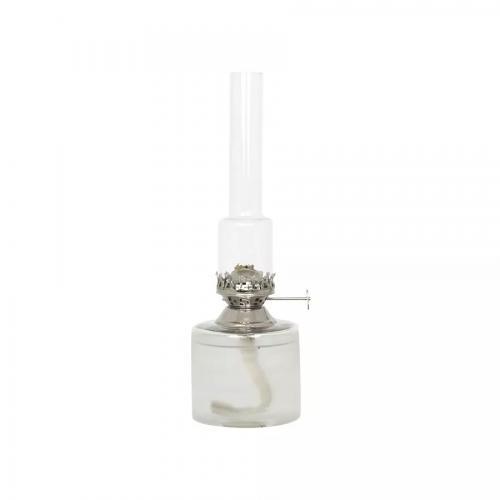 Fotogenlampa Rak Frost Liten Nickel