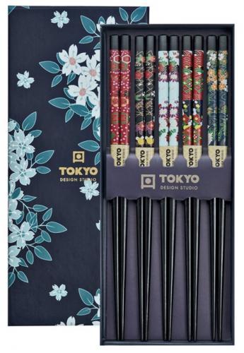 Tokyo Design Chopsticks Cherry Blossom 5 par