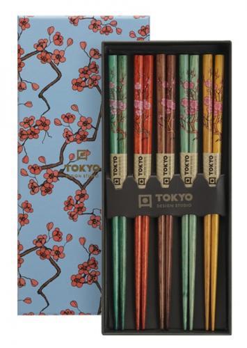 Tokyo Design Chopsticks Sakura 5 par