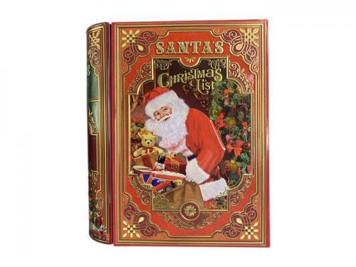 Plåtburk Bokburk Christmas List