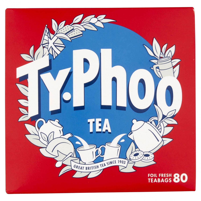 Typhoo 80 Tepåsar