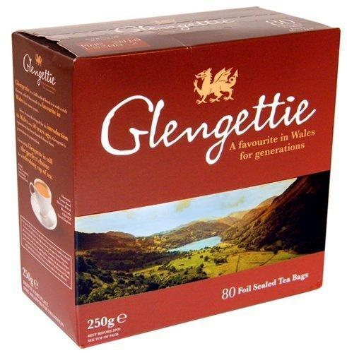 Glengettie Tea 80 Tepåsar 250g