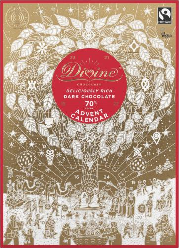 Adventskalender Divine Choklad