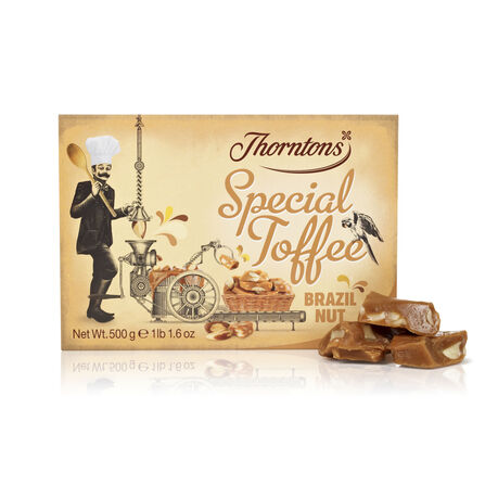 Thortons brazil nut toffee 500g