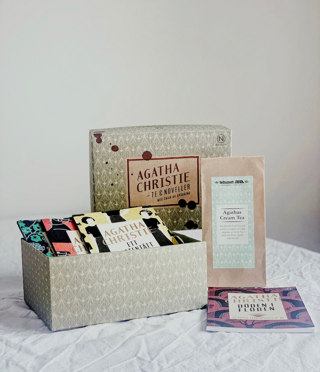 Novellixbox Agatha Christie te och noveller