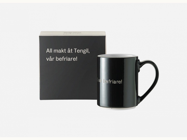 Astrid Lindgren Mugg All makt åt Tengil svart