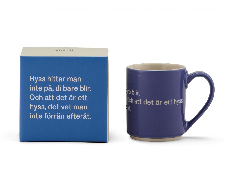 Astrid Lindgren Mugg Hyss Hittar Man Inte På Blå