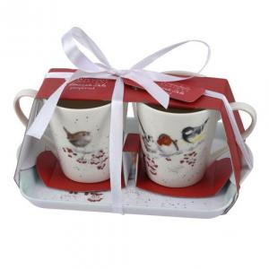 Wrendale Mug & Tray Set