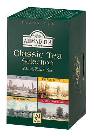 Ahmad Classic tea Selection