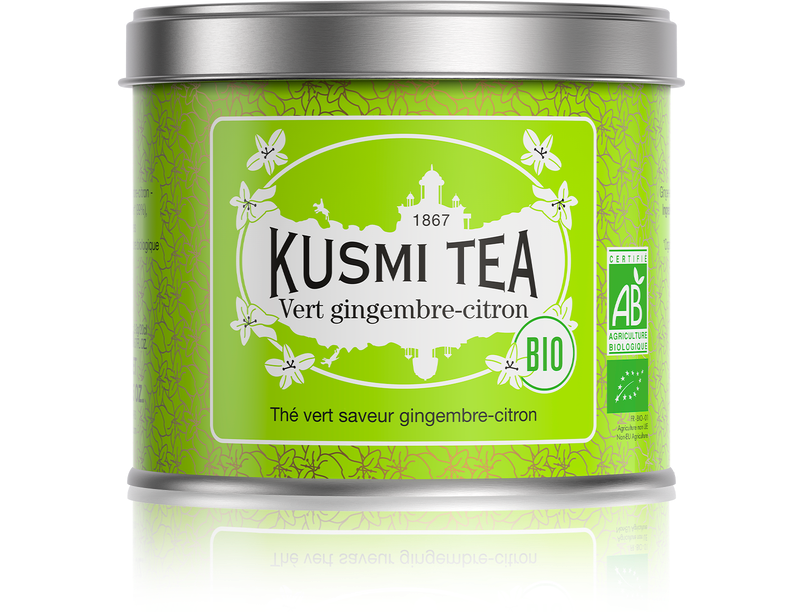 Kusmi Green Ginger Lemon Ekologisk 100g