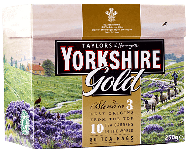 Yorkshire Tea GOLD 80 Tepåsar