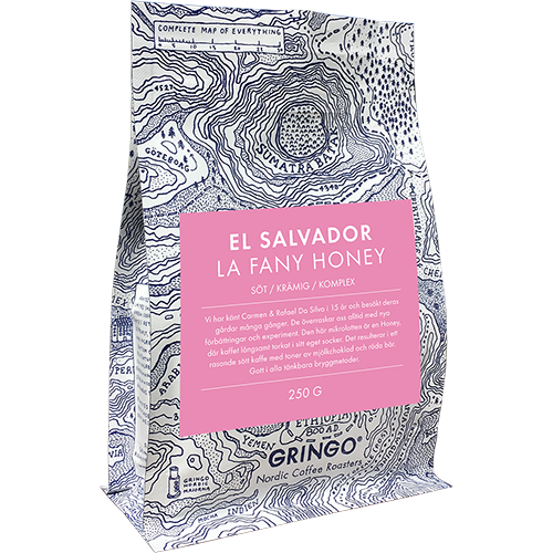 Gringo El Salvador La Fany Honey 250g