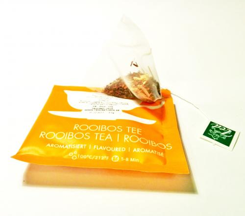 Happy Cup Of Tea Rooibos Rabarber Grädd 12 pack
