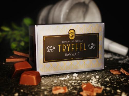 Bräutigams Chokladtryffel Havssalt 100g