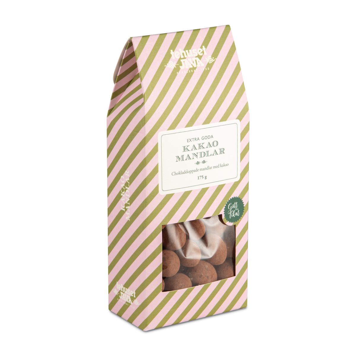 Tehuset Javas Kakaomandlar 175g