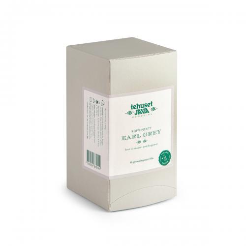 Koffeinfritt Earl Grey 16 pack Tepåsar i Folie