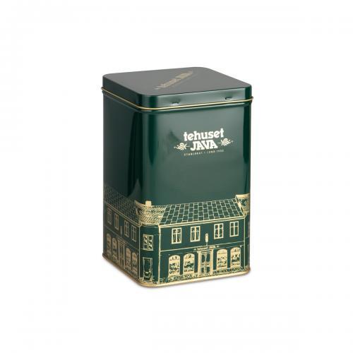 Plåtburk Tehuset Java 500g Grön