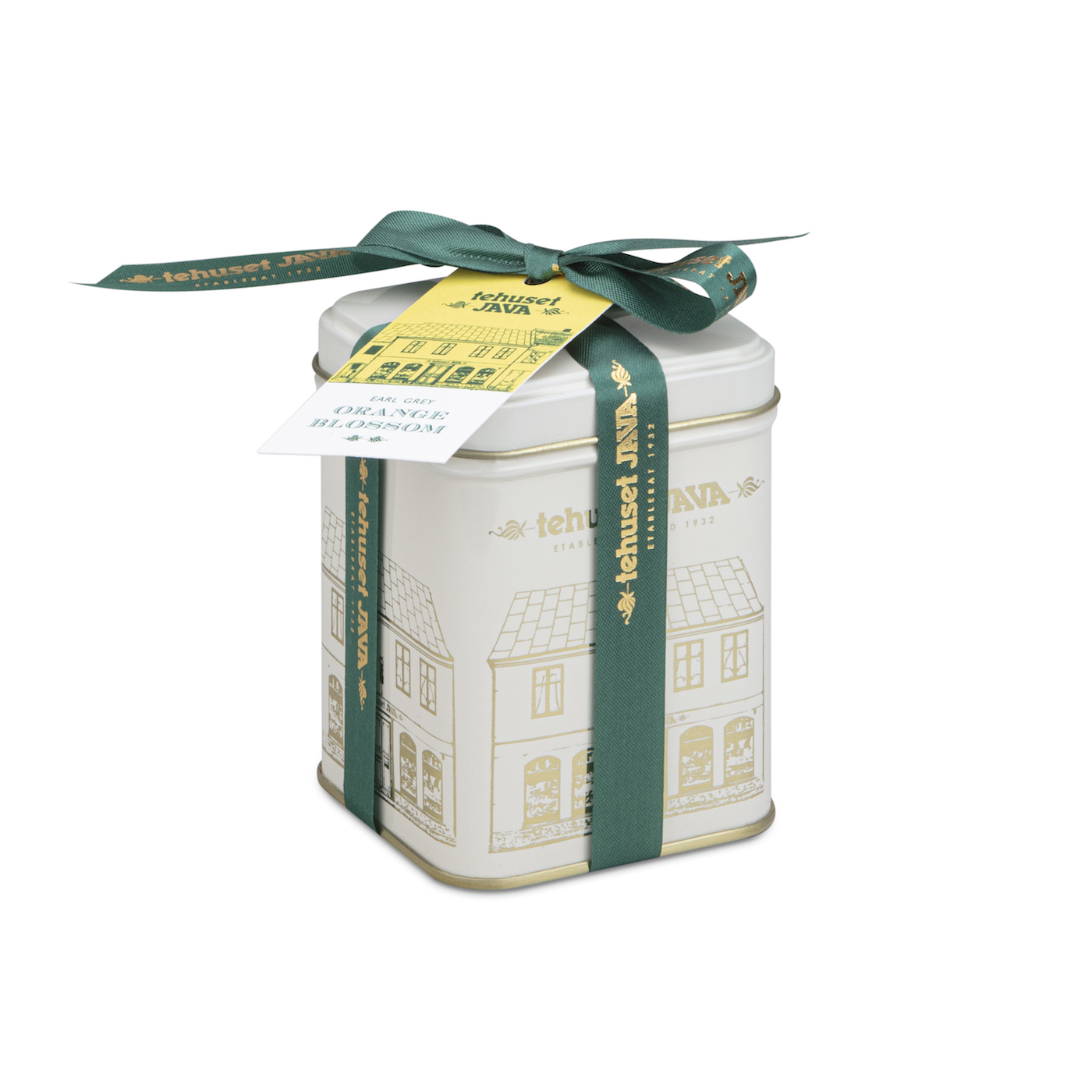 Earl Grey Orange Blossom i plåtburk 100g
