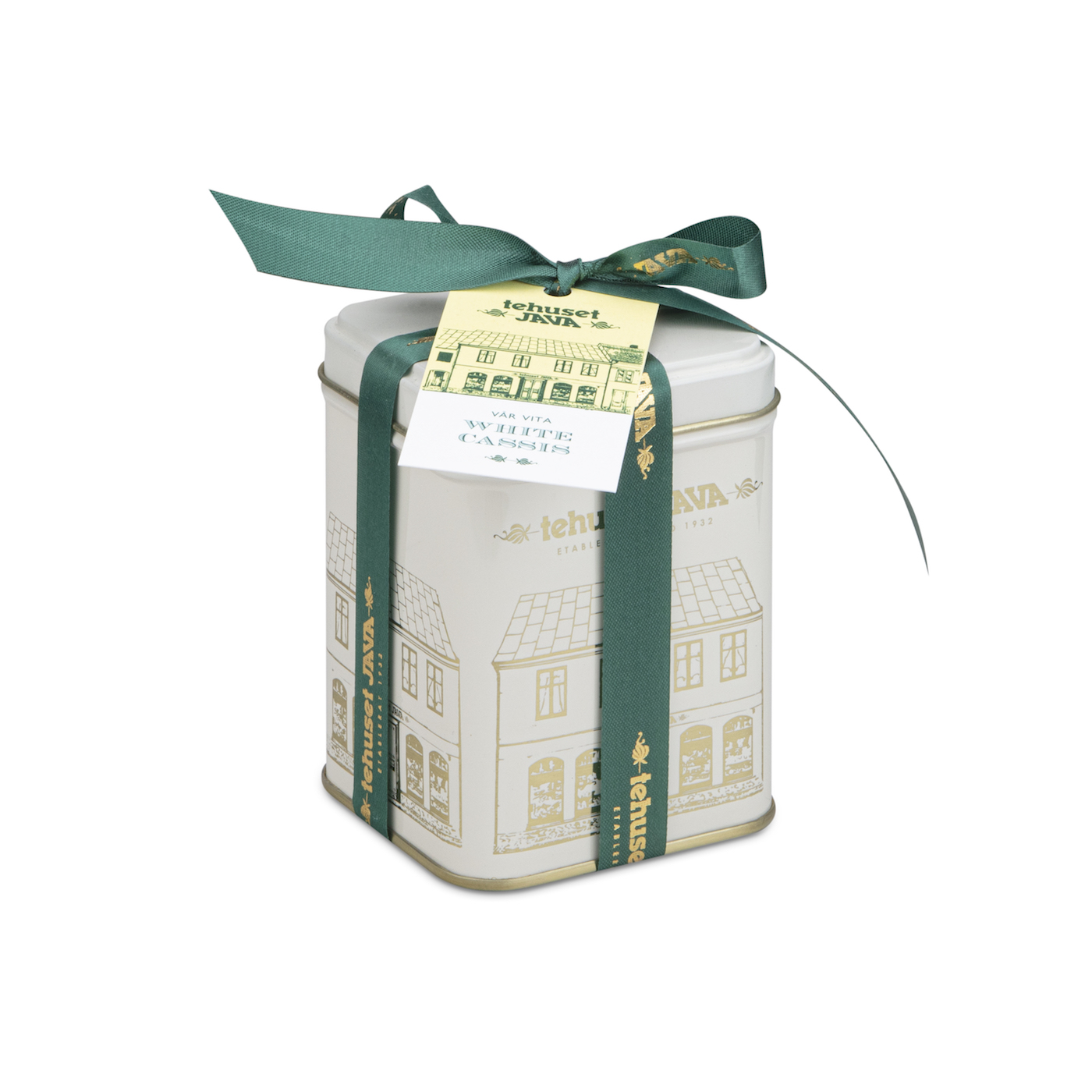 White Cassis i plåtburk 50g