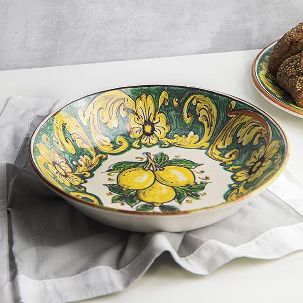 Ceramica Salerno Skål 30cm Boboli