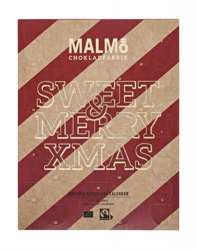 Malmö Chokladfabrik Ekologisk Chokladkalender