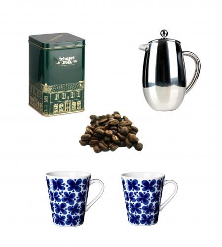 Kaffepress, Mon Amie muggar, kaffeburk & Lundakaffe