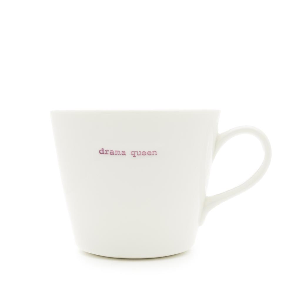 Standard Bucket Mug Drama Queen 350ml