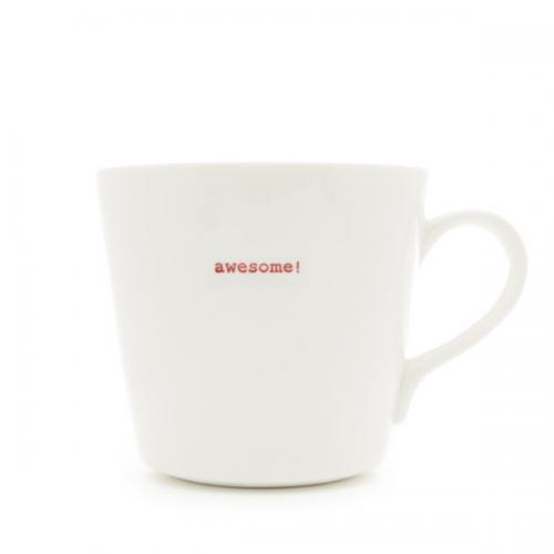 Large Bucket Mug 500ml Awesome