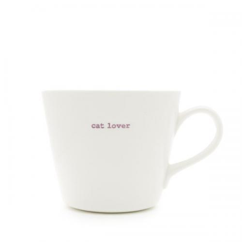 Standard Bucket Mug Cat Lover 350ml