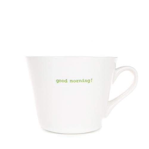 Standard Bucket Mug Good Morning 350ml