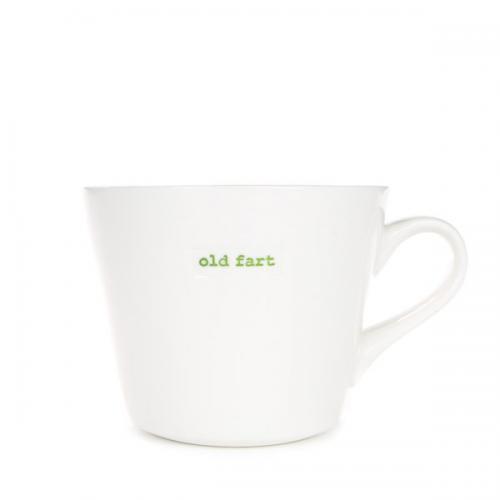 Standard Bucket Mug Old Fart 350ml