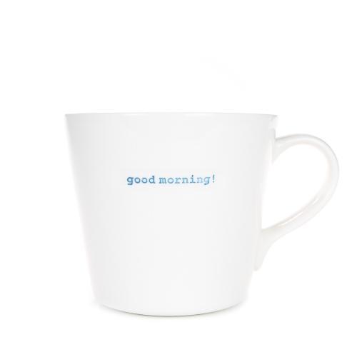 Large Bucket Mug 500ml Godd Morning!