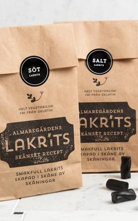 Almaregårdens Lakrits Salt 150g