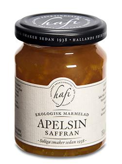 Hafi Marmelad Apelsin/Saffran EKO 150g