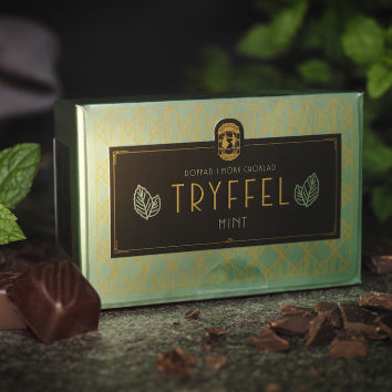 Bräutigams Chokladtryffel Mint 100g