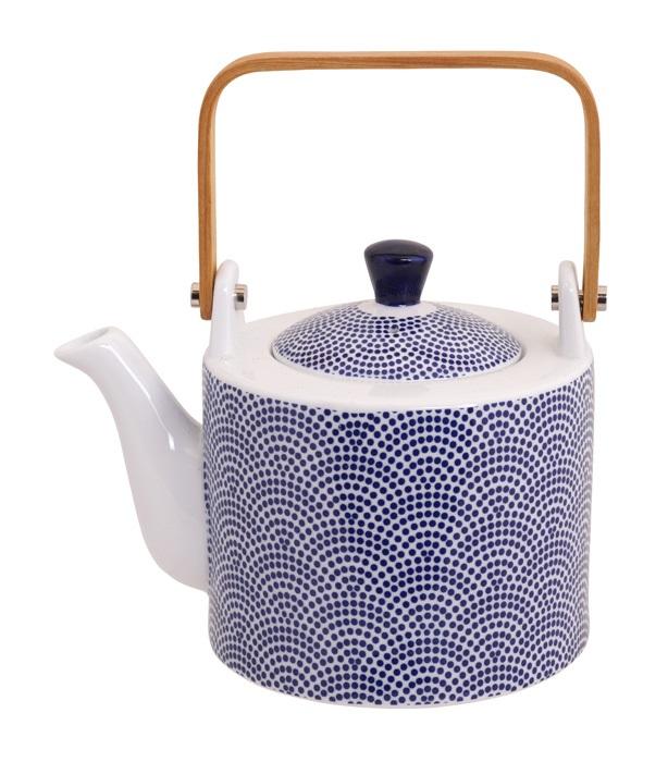 Tokyo Design Tekanna Dot Blå 0,8L