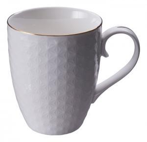 Tokyo Design Nippon White w Golden Rim Wave Mug