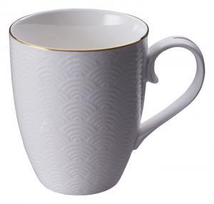 Tokyo Design Nippon White w Golden Rim Star Mug