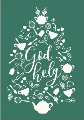 Tevykort God Helg grönt