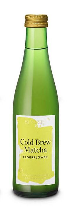 Cold Brew Matcha Elderflower