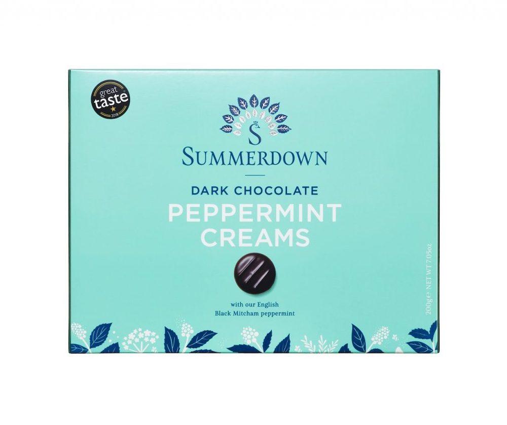 Summerdown Chocolate Peppermint Creams 200g
