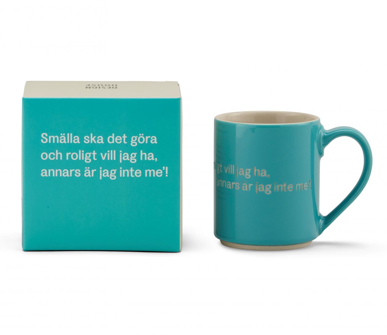 Astrid Lindgren Smälla Ska Det Göra Turkos