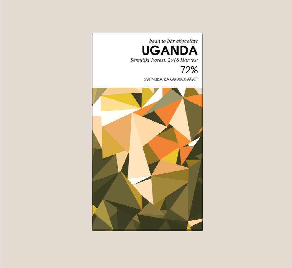 Svenska Kakaobolaget Uganda 72% 50g