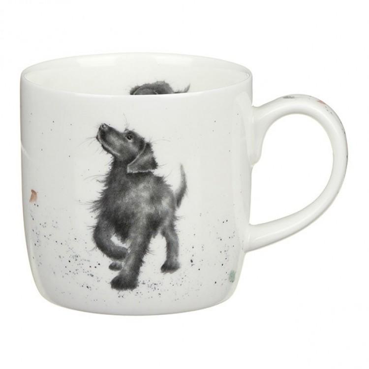 Wrendale Mugg Walkies Hund
