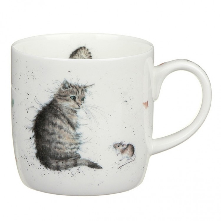 Wrendale Mugg Cat & Mouse