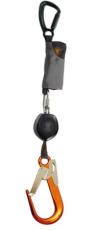 """Detta ultrakompakta fallskydd är utrustad med Skylotecs nya """"One-4-All"""" dämpare. Fallskyddsblock som tål tunga vikter"""